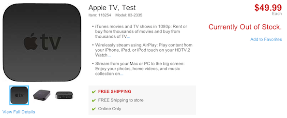 apple tv staples ad