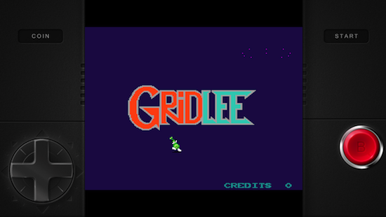 MAME emulator 'Gridlee' pops up in the App Store