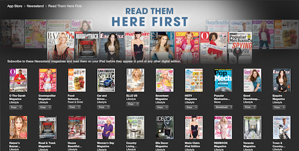 here first newsstand