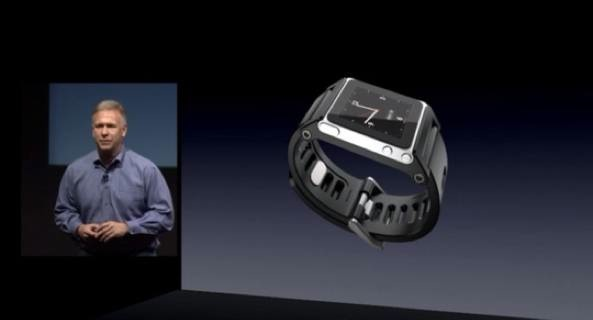 iPod nano wristband Phil Schiller
