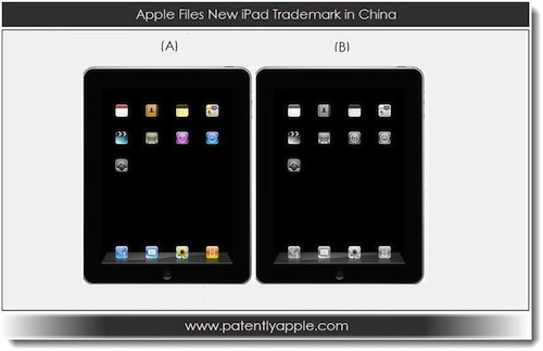 ipad china trademark