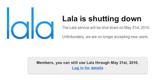 lala shutdown