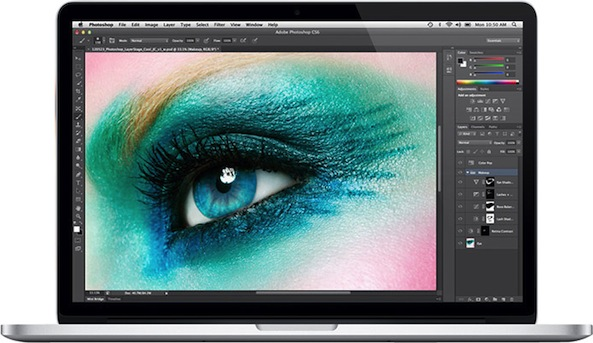 macbook pro retina eye