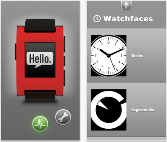 pebble ios app
