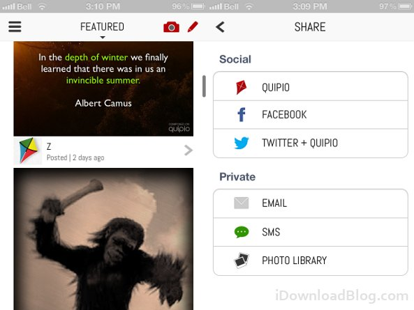 quipio featured share