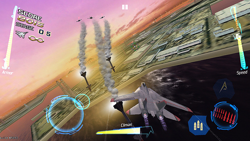 After Burner Climax for iOS (teaser screenshot 001)