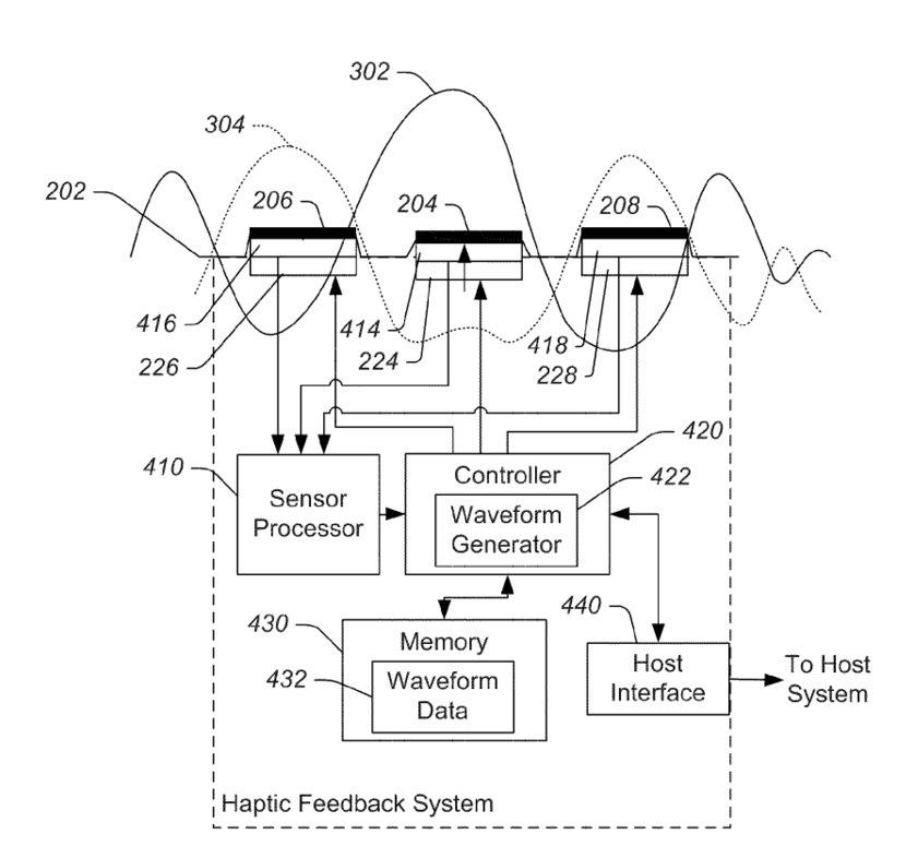 Apple patent 8378797 (drawing 001)