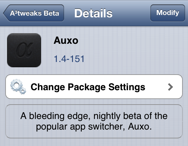 Auxo beta nightly