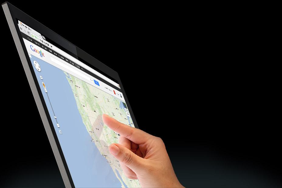 Chromebook Pixel (touchscreen, Google Maps)