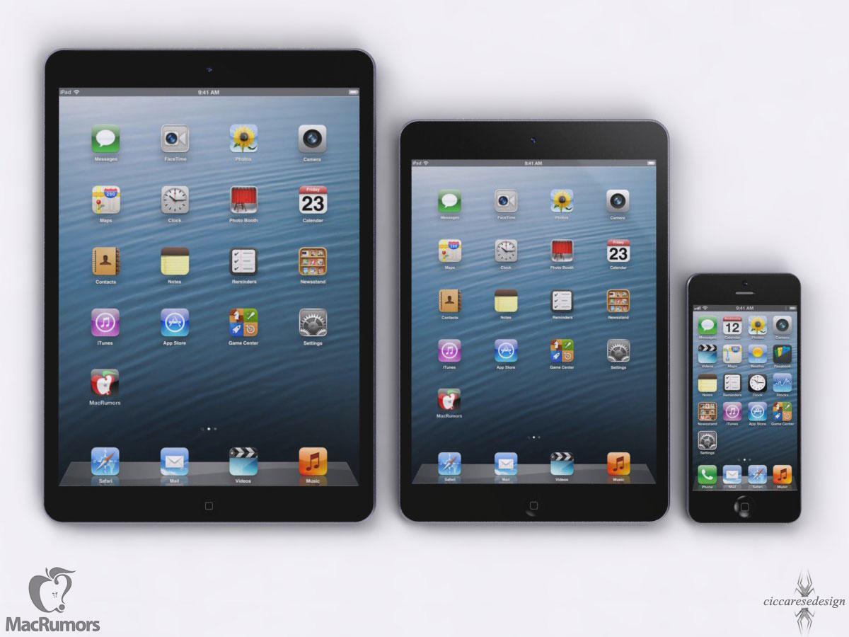 CiccareseDesign iPad 5 size comparison (image 001)
