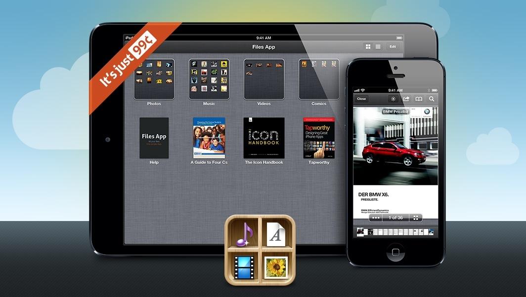 Files 1.0 for iOS (teaser 001)