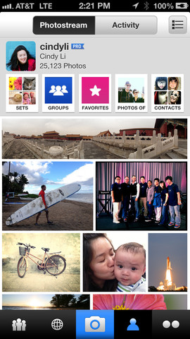 Flickr 2.10.803 for iOS (iPhone screenshot 001)