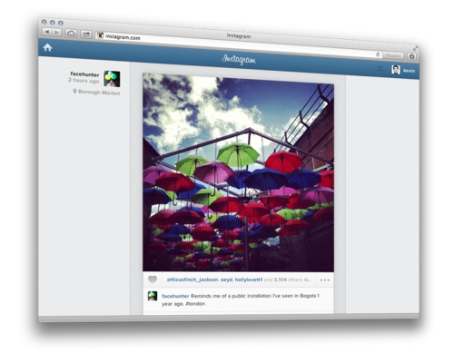 Instagram web feed (teaser 001)