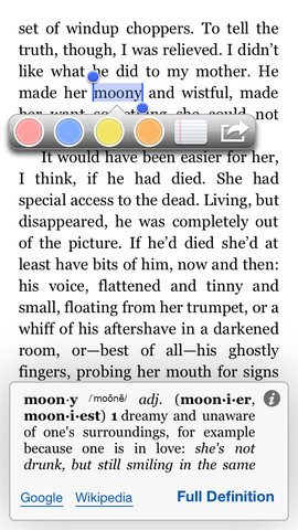 Kindle 3.6 for iOS (iPhone screenshot 001)