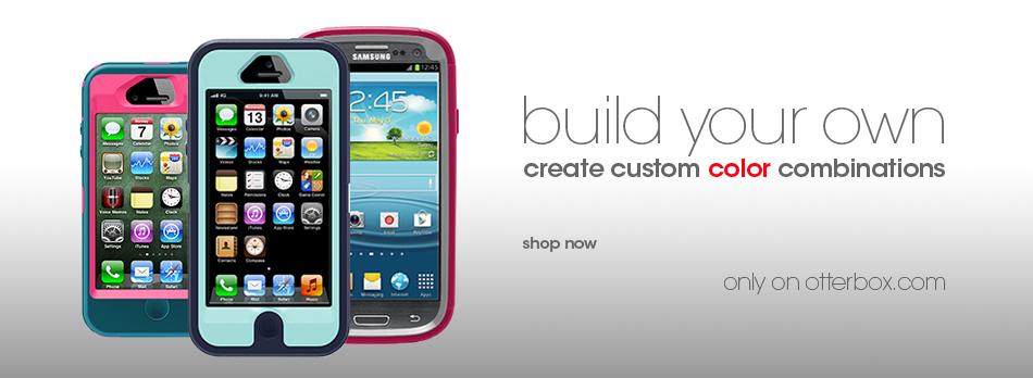 OtterBox customized Defender Series cases
