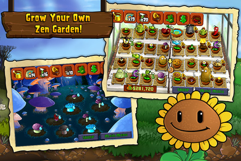 Plants vs. Zombies for iOS (iPad screenshot 002)