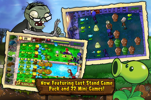 Plants vs. Zombies for iOS (iPad screenshot 003)