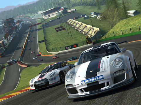 Real Racing 3 1.0 for iOS (iPad screenshot 001)