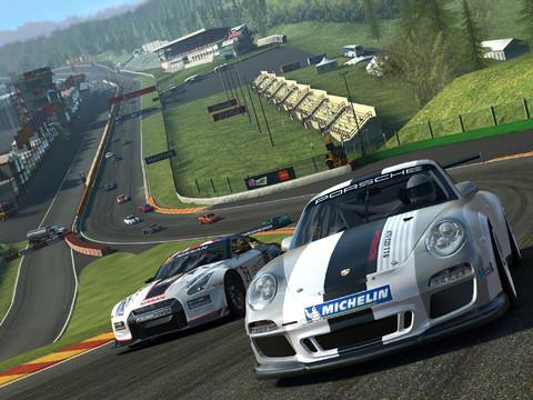 Real Racing 3 1.0 for iOS (iPad screenshot 001)
