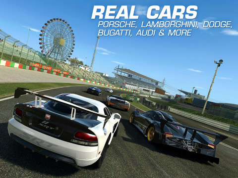 Real Racing 3 1.0 for iOS (iPad screenshot 002)