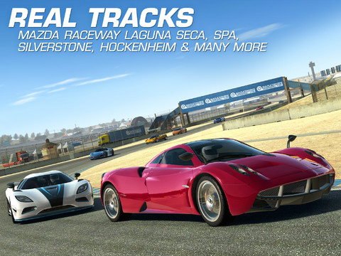 Real Racing 3 1.0 for iOS (iPad screenshot 003)