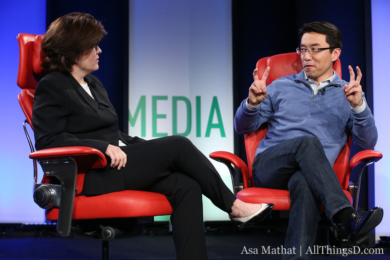 Samsung David Eun and Kara Swisher