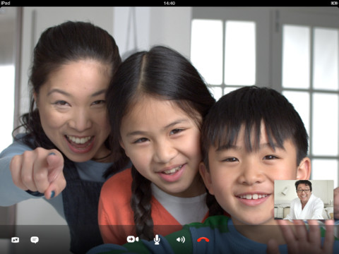 Skype for iPad 4.5 (screenshot 001)