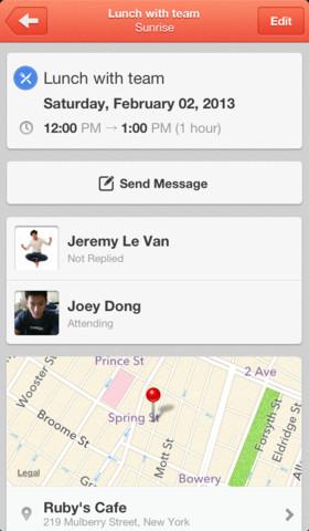 Sunrise Calendar 1.0 for iOS (iPhone screenshot 003)