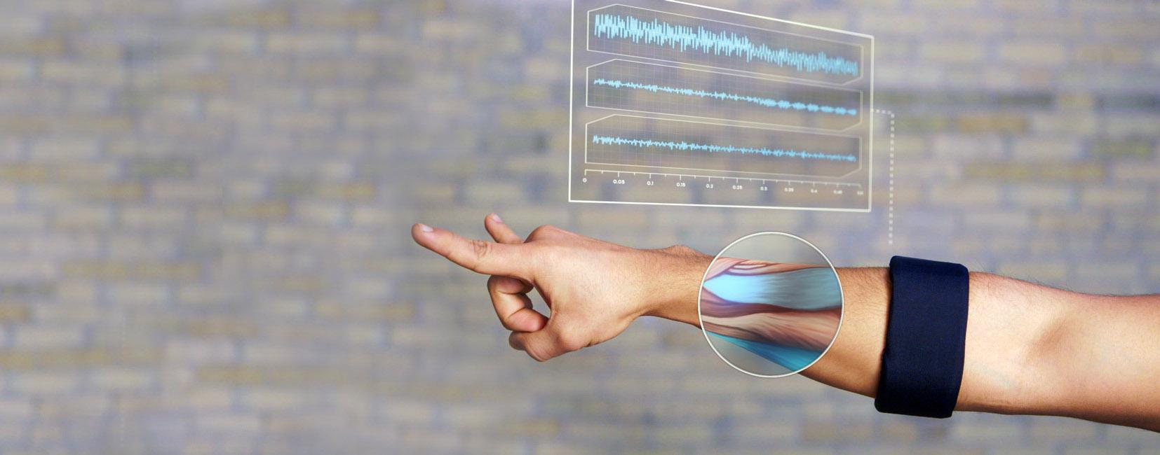 Thalmic Labs MYO armband (technology 002)