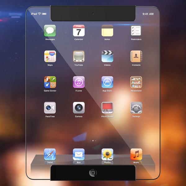 Translucent iPad model (Ricardo Alfonso 001)