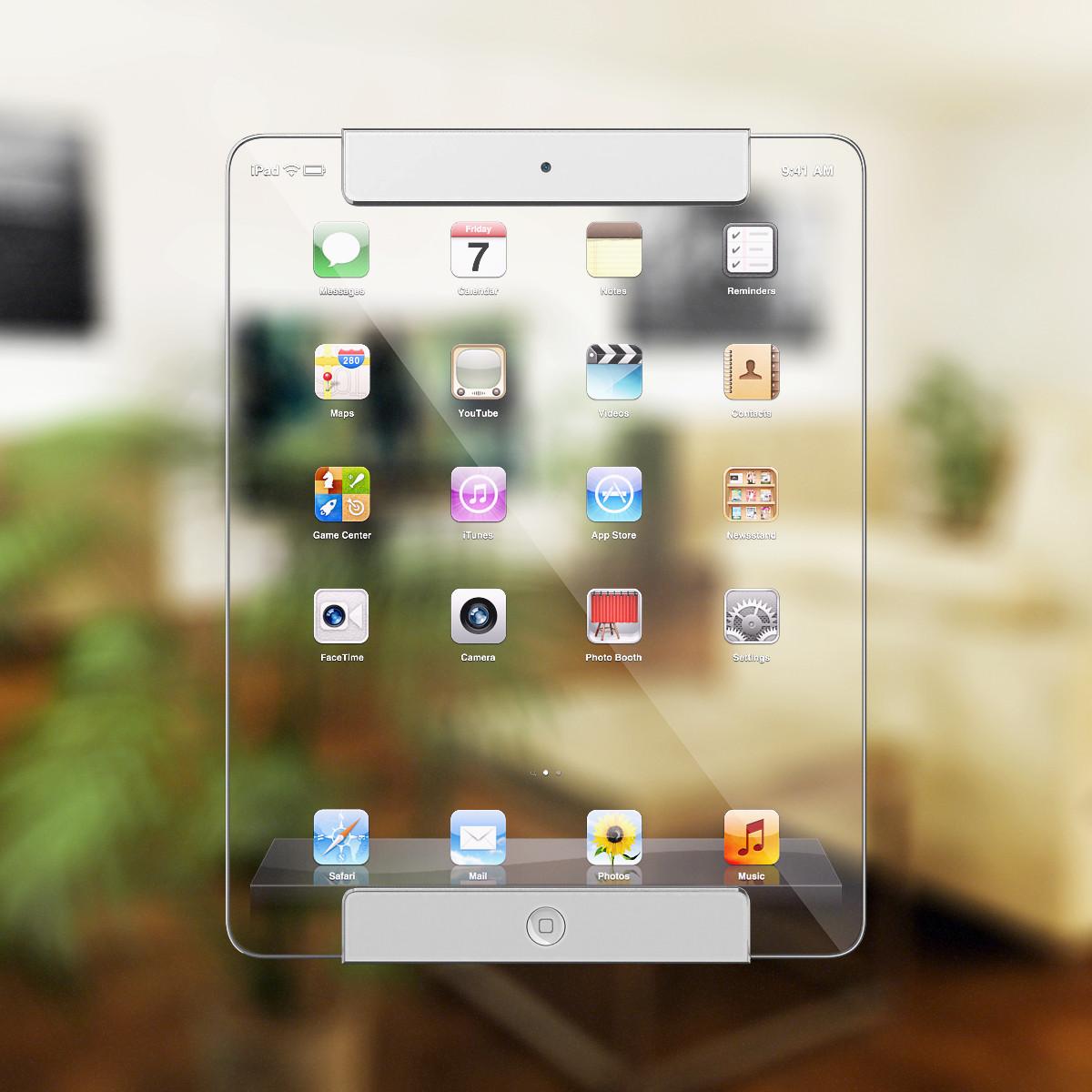Translucent iPad model (Ricardo Alfonso 004)