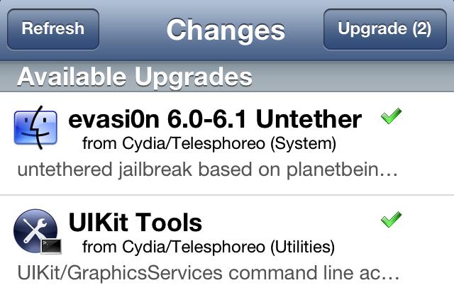 evasi0n cydia fix UIKit Tools