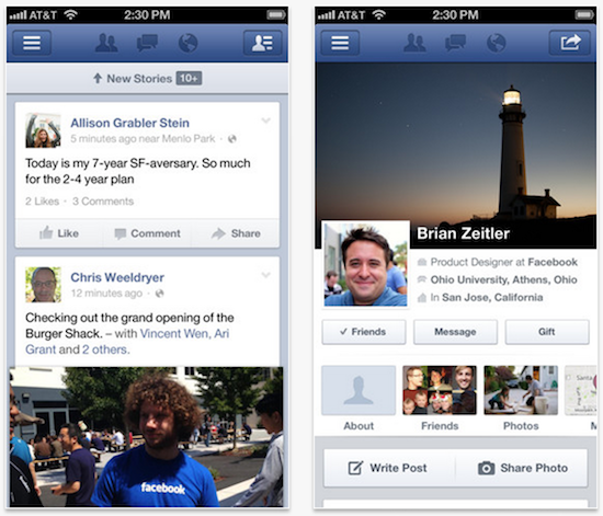 facebook 5-5 update