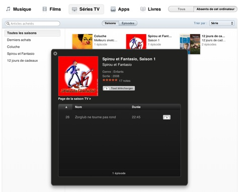 france itunes in cloud