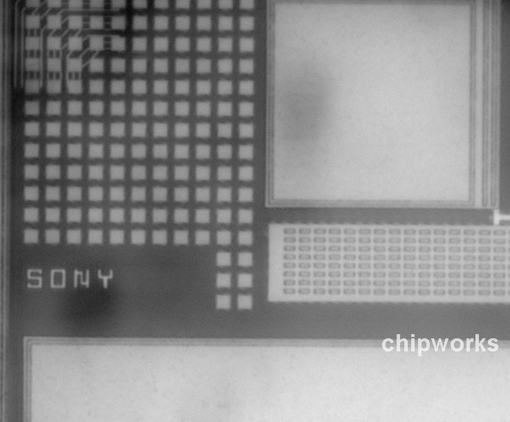 iPhone 5 Sony iSight sensor (Chipworks 001)