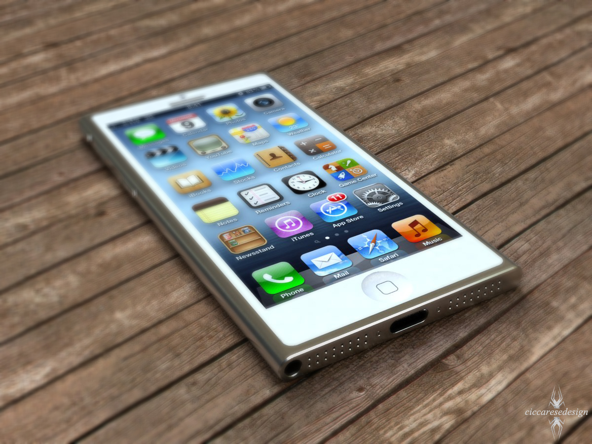 iPhone 5 alternative future (CiccareseDesign 001)