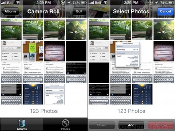 photo organizer let s you easily edit the camera roll and albums