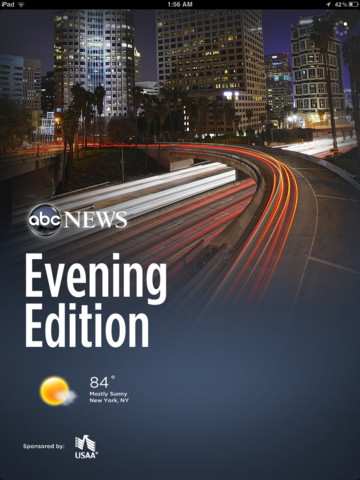ABC News 2.1 for iOS (iPad screenshot 001)