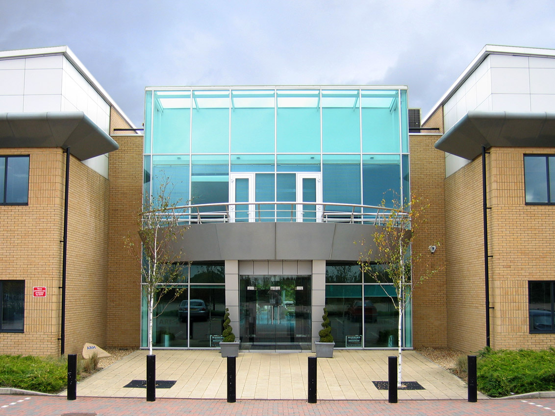 ARM Cambridge campus (exterior 001)
