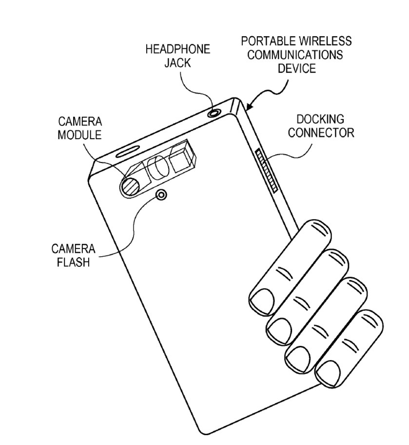 Apple iPhone camera optical zoom patent (drawing 003)