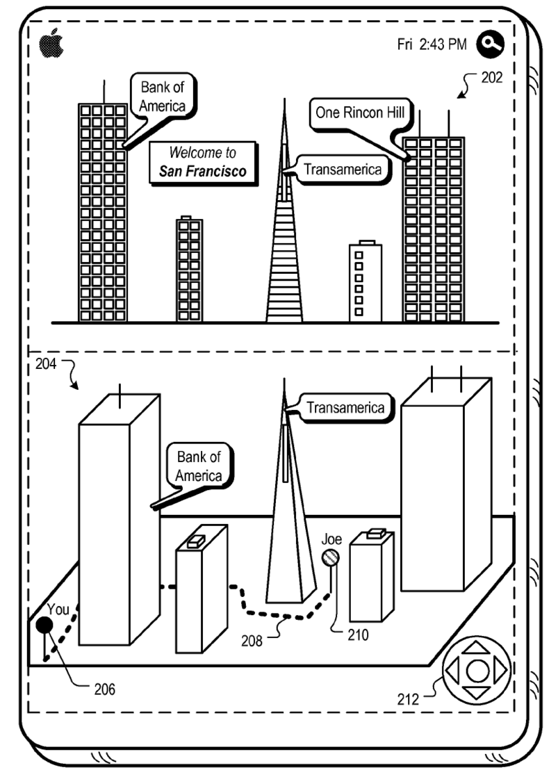 Apple patent 8400548 (drawing 001)