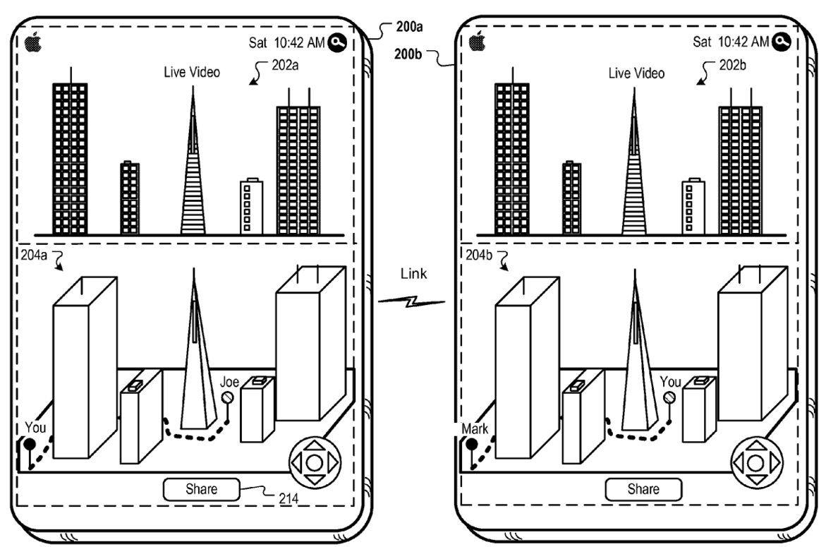 Apple patent 8400548 (drawing 002)