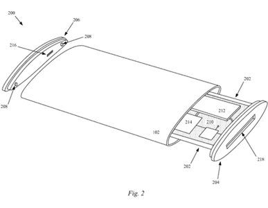 Apple patent bendable iPhone (image 001)