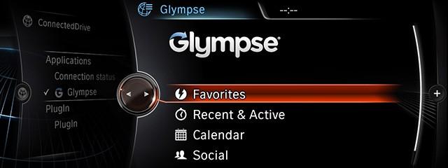 BMW Apps (Glympse)