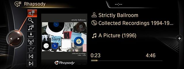 BMW Apps (Rhapsody)