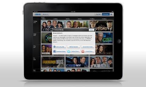 CBS 1.0 for iOS (iPad screenshot 003)