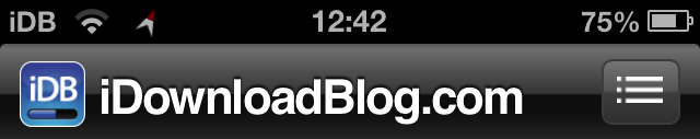 iphone status bar directionbar adds a live compass to your iphone status bar 5855