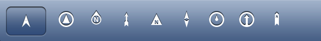 DirectionBar icons
