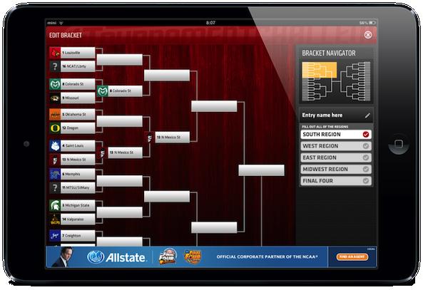 ESPN App Bracket