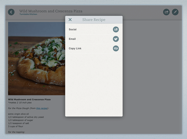 Evernote Food 2.1 for iOS (iPad screenshot 002)